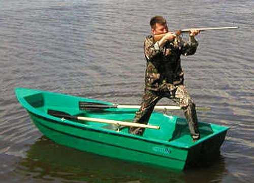 лодка окунь пластик