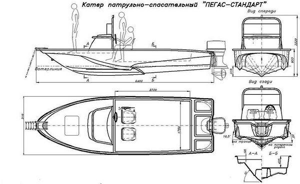 чертежи на лодку амур