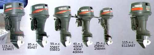 Двухтактные лодочные моторы yamaha серии enduro