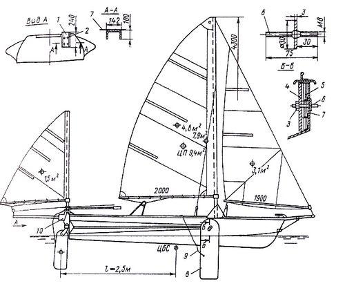 для лодки Казанка-М