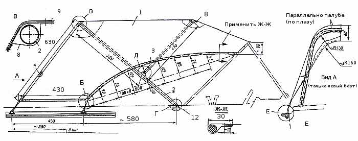 Общая схема тентового