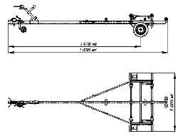 чертежи прицепа для лодки крым