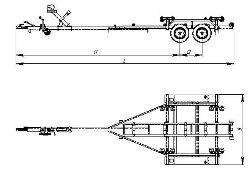 чертежи на прицеп для лодки