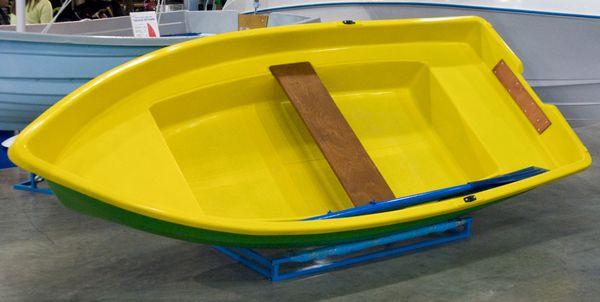 лодка пластиковая трехместная