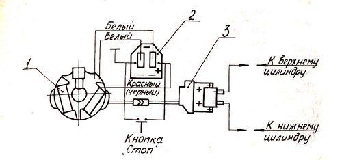 Схема подключения электронного зажигания вихрь-30